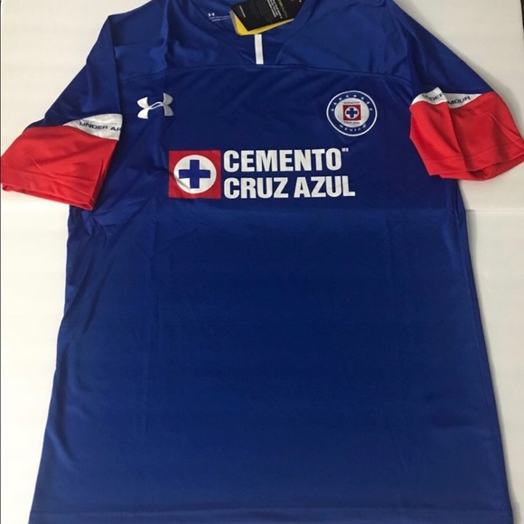 Cruz Azul FC Men/'s Soccer Jersey Size Large